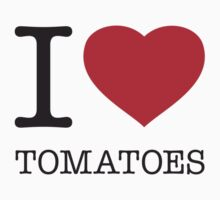 I ♥ TOMATOES One Piece - Long Sleeve