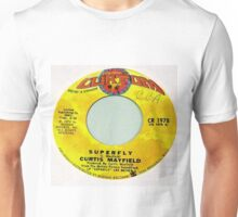 SUPERFLY, Funk Soul 45 label Unisex T-Shirt