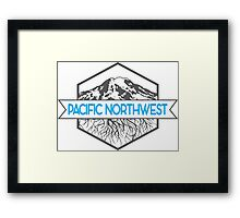 Pacific Northwest Roots Framed Print
