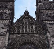 Gothic Church Sticker