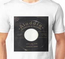 Over And Over, Doo Wop R & B 45 label on Aladdin Unisex T-Shirt