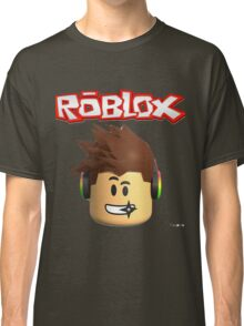 Roblox Character Head Classic T-Shirt