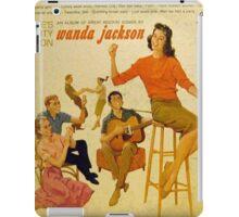 Wanda Jackson, Rockabilly lp, 1950's, Gene Vincent  iPad Case/Skin