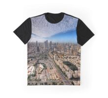 Tel Aviv Skyline  Graphic T-Shirt