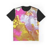 Pink Marble 3 Graphic T-Shirt