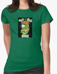 Too Far Gone Monster Womens Fitted T-Shirt