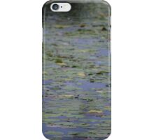 Clouded Water Lilies iPhone Case/Skin