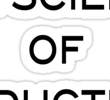 The Science Of Deduction Sticker