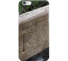 """""""TEA"""" iPhone Case/Skin"""