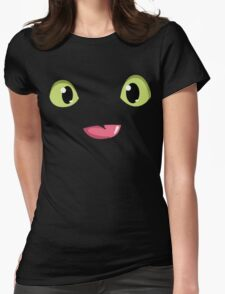 Toothless smile Womens Fitted T-Shirt
