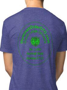 Illuminati Owl of Minerva Tri-blend T-Shirt