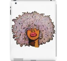 Lavender Fro iPad Case/Skin