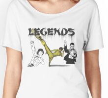 Martial Arts Legends Women's Relaxed Fit T-Shirt
