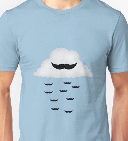 Mustache Cloud Unisex T-Shirt