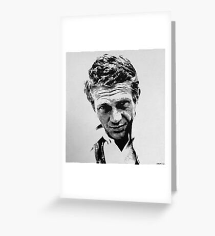Steve McQueen Greeting Card