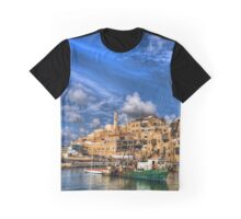 The old port, Jaffa Graphic T-Shirt