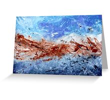 Turbulent Winds Greeting Card