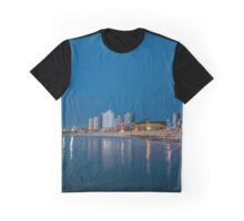Tel Aviv the blue hour Graphic T-Shirt