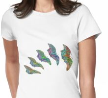 Flutterfly II Womens Fitted T-Shirt