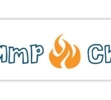 Camp Chi Blue/Orange Sticker