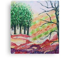 Colorful nature Canvas Print