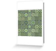 Green Valley Quilt Greeting Card