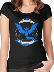 Pokemon Go Team Mystic Revision Women's Fitted Scoop T-Shirt