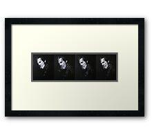 Jeff Bridges - Abstract Study Framed Print
