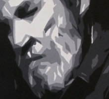 Jeff Bridges - Abstract Study Sticker