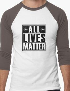 ALL Lives Matter Men's Baseball ¾ T-Shirt