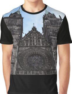 Gothic Church Graphic T-Shirt