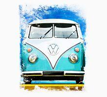 VW CAMPER BLUE - ILLUSTRATION Unisex T-Shirt