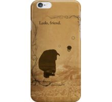 The Labyrinth inspired design (Ludo). iPhone Case/Skin