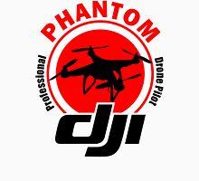 New Design Professional Drone Pilot Phantom Black Text Unisex T-Shirt
