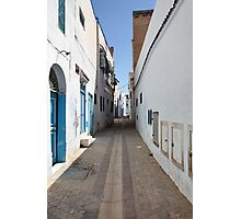 old  city of the narrow street  Photographic Print