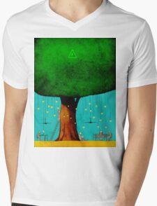 Bio Energy Mens V-Neck T-Shirt