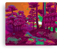 Larravide Forest Feel Warm  Canvas Print
