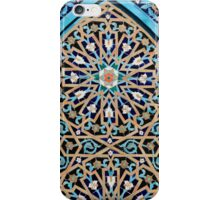 Arabic mosaic ornament iPhone Case/Skin