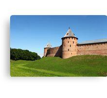 Fortress Novgorod Canvas Print