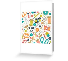 Create It And Post It  Greeting Card