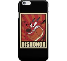 Dishonor iPhone Case/Skin