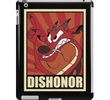 Dishonor iPad Case/Skin
