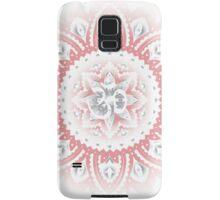 Yoga Mandala Henna Ornate Ohm Pink Samsung Galaxy Case/Skin