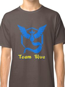 Team Blue Mystic Pokemon Go Classic T-Shirt