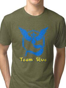Team Blue Mystic Pokemon Go Tri-blend T-Shirt