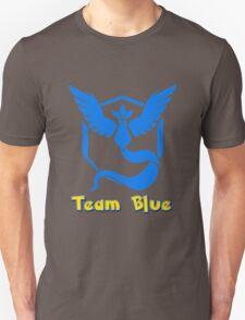 Team Blue Mystic Pokemon Go Unisex T-Shirt