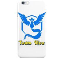 Team Blue Mystic Pokemon Go iPhone Case/Skin