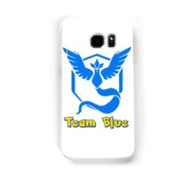 Team Blue Mystic Pokemon Go Samsung Galaxy Case/Skin