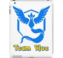 Team Blue Mystic Pokemon Go iPad Case/Skin