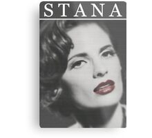 Stana Katic as Marilyn Monroe Metal Print